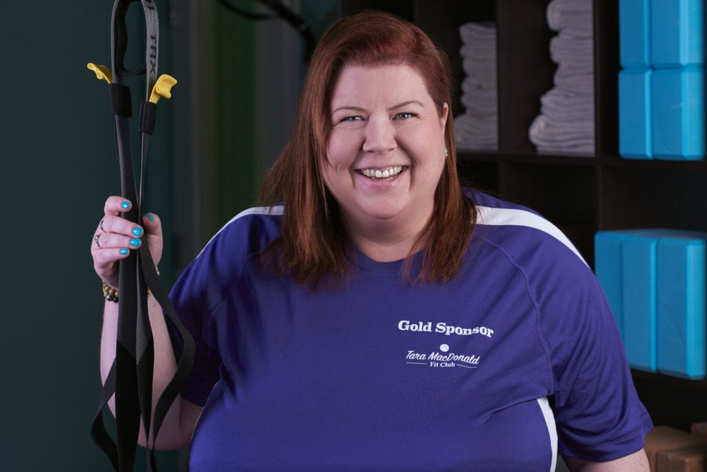 Tara MacDonald, Certified Trainer and Specialist for Plus Sized Individuals and Seniors